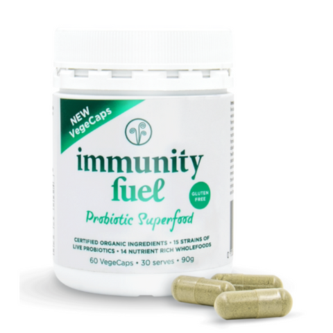 Immunity Fuel Probiotic Superfood Gluten Free 60caps