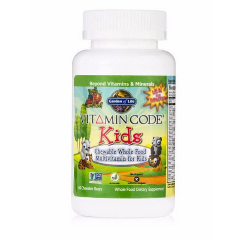 Garden of Life Vitamin Code Kids Multi Chewable 60tabs