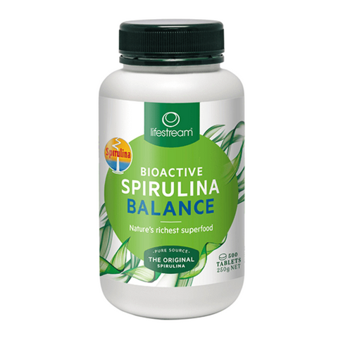 Lifestream Bioactive Spirulina Balance 500mg 500tabs