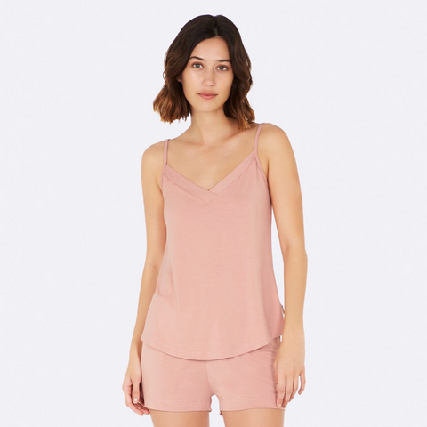 Boody Goodnight Sleep Cami Dusky Pink Large