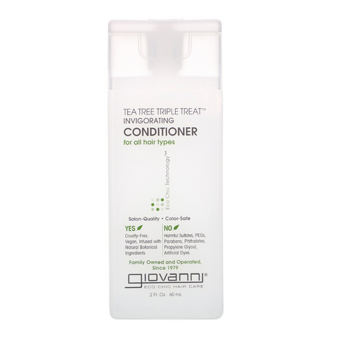 Giovanni Tea Tree Triple Treat Invigorating Conditioner 60ml