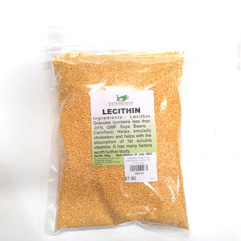 Nutra Foods Lecithin (GE Free) 250g
