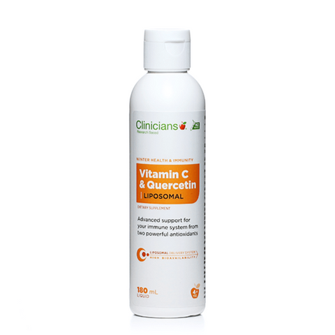 Clinicians Vitamin C & Quercetin Liposmal 180ml