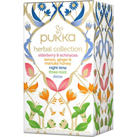 PUKKA Herbal Collection: 5 herbal teas 20 tbag