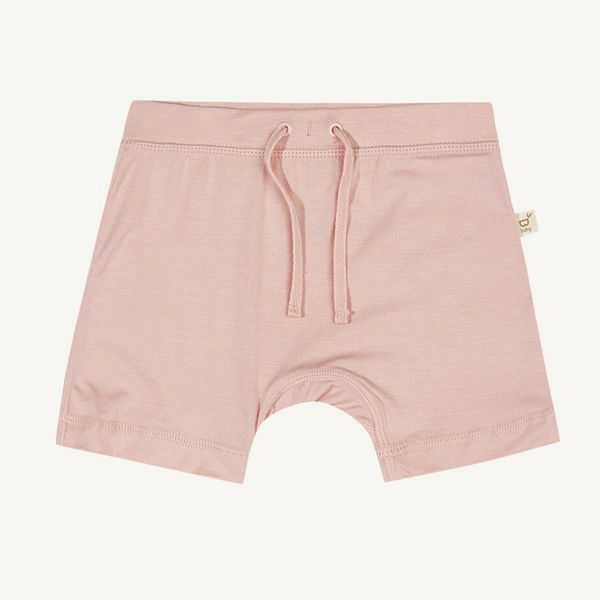 Boody Baby Pull on Shorts Rose 6-12mths 0