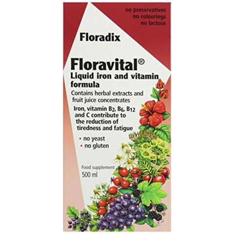 Red Seal Floradix Floravital Iron Tonic 250ml
