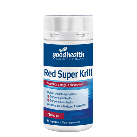 Good Health Red Super Krill 750mg 60caps