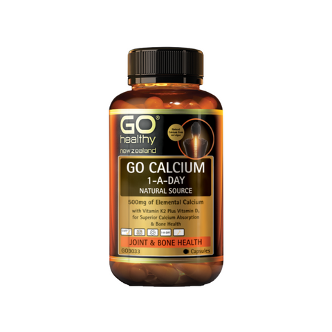 Go Calcium 1-A-Day Natural Source 120caps