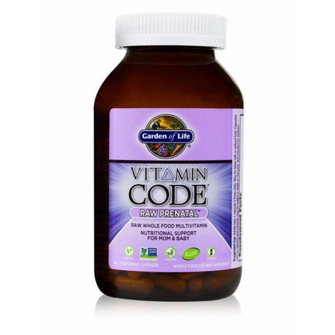 Garden of Life Vitamin Code Raw Prenatal 90caps