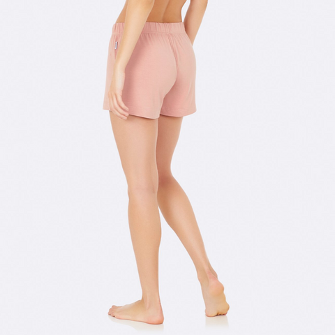 Boody Goodnight Sleep Shorts Dusky Pink Large