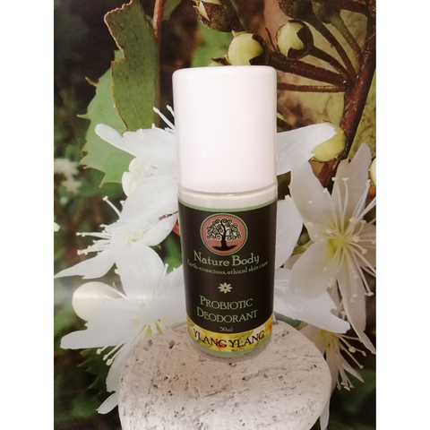 Nature Body Probiotic Roll on Deodorant Ylang Ylang 50ml