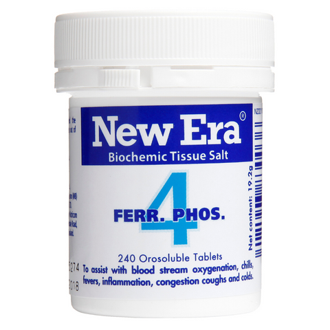New Era No.4 Ferr Phos 240tabs