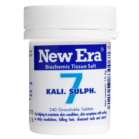 New Era No.7 Kali Sulph 240tabs