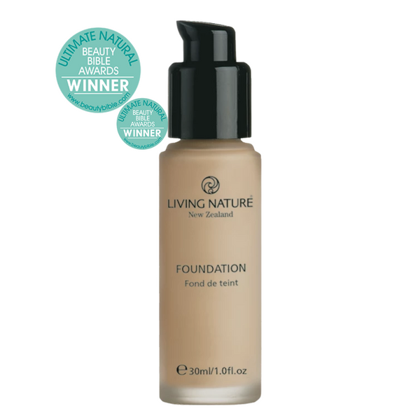 Living Nature Foundation Pure Honey 30ml