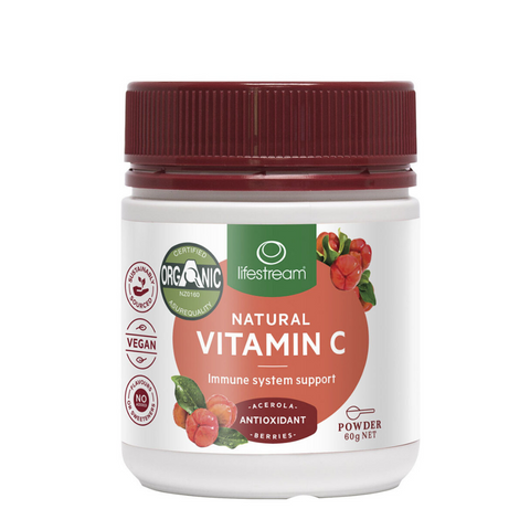 Lifestream Natural Vitamin C Powder 60g