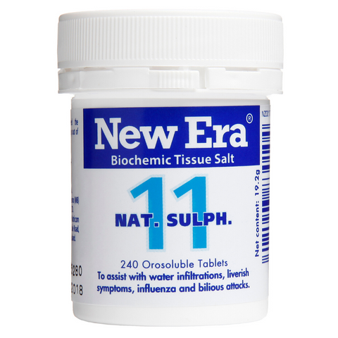New Era No.11 Nat Sulph 240tabs