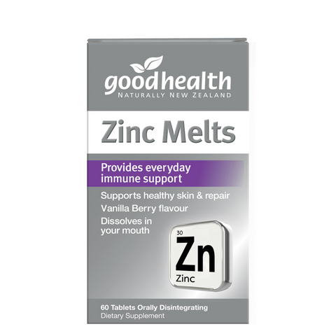 Good Health Zinc Melts 60tabs