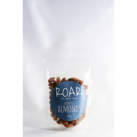 Roar Activated Almonds Organic 125g