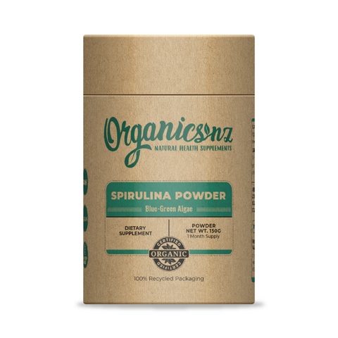 Organics NZ Spirulina Powder 150g