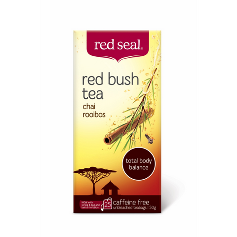 Red Seal Red Bush - Chai Rooibos 25 Teabags