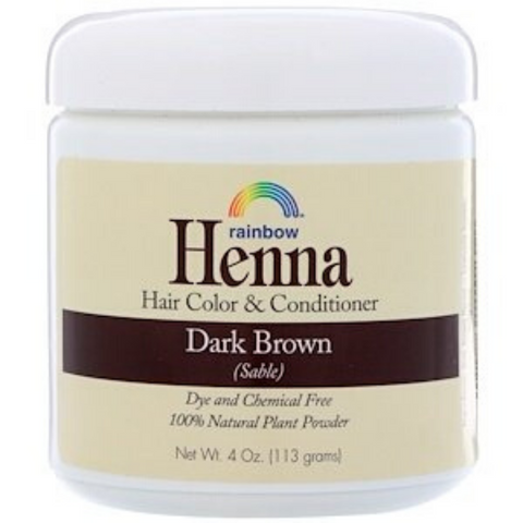 Rainbow Henna Dark Brown 113g