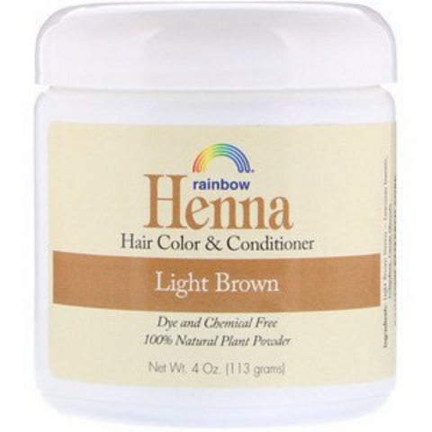 Rainbow Henna Light Brown 113g