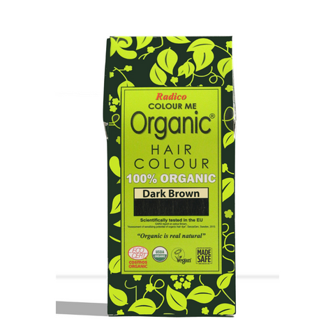 Radico Organic Henna Hair Colour Dark Brown