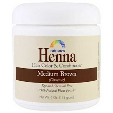 Rainbow Henna Medium Brown 113g