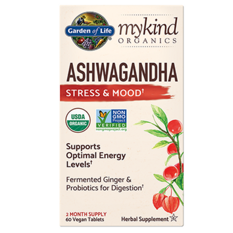 Garden of Life My Kind Ashwagandha 60 tabs