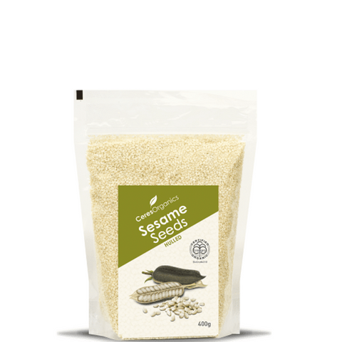 Ceres Sesame Seeds Hulled Organic 400g