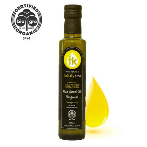 Totally Kiwi Flax Seed Oil Organic 500ml