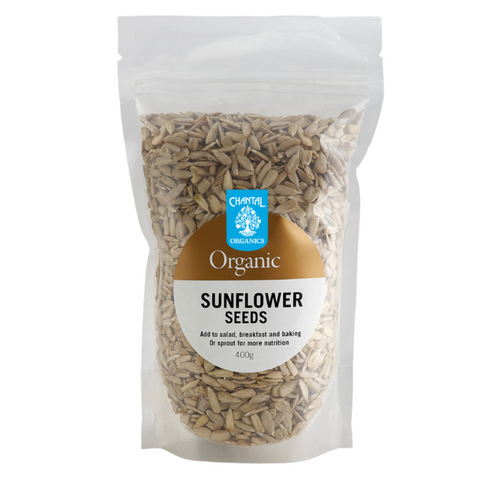 Chantal Sunflower Seeds Organic 400g
