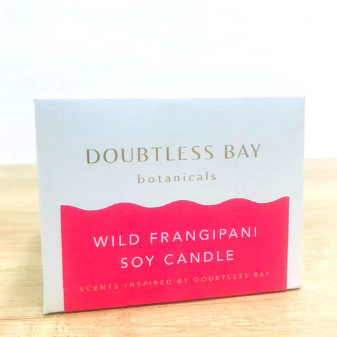 Doubtless Bay Soy Candle - Wild Frangipani