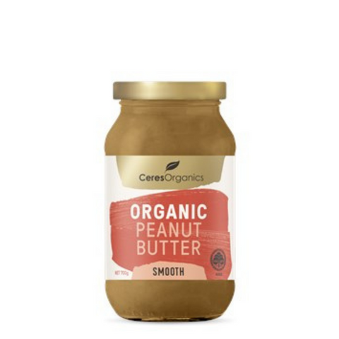Ceres Peanut Butter Smooth Organic 700g