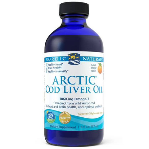 Nordic Cod Liver Oil Lemon 237ml