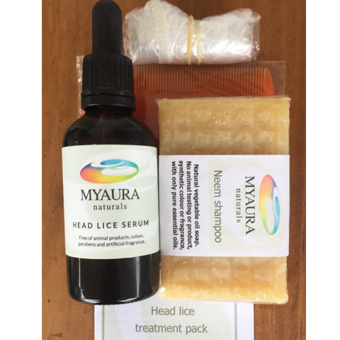 Myaura Head Lice Treatment Pack