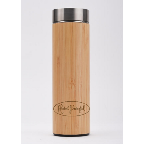 Herbal Potential Bamboo Tea Infuser