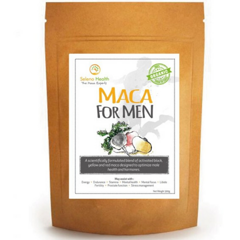 Seleno Maca for Men Organic 300g