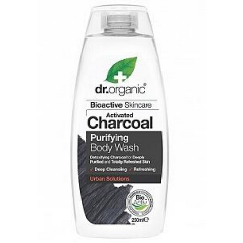 Dr Organic Activated Charcoal Purifying Body Wash 250ml