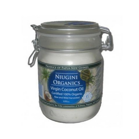 Niugini Organic Coconut Oil 650ml