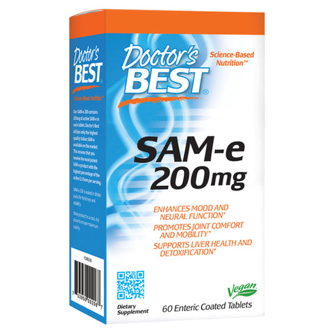 Doctor's Best SAM-e 200mg 60tabs