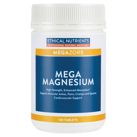 Ethical Nutrients Mega Magnesium 120tabs