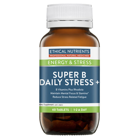Ethical Nutrients Super B Daily Stress + 60tabs
