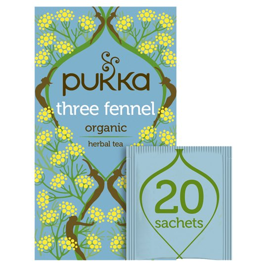 PUKKA Three Fennel Tea 20 Sachets