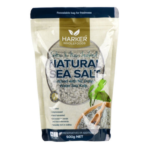 Harker Celtic & NZ Sea Salt with Kelp 500g