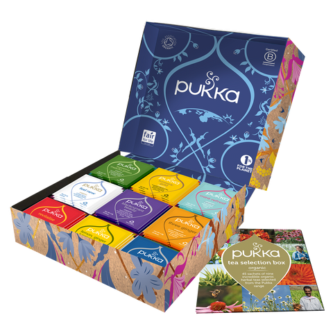 Pukka Tea Selection Gift box 45bag