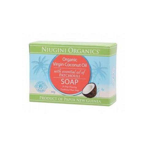 Niugini Org Virgin Coconut Oil Soap Patchouli
