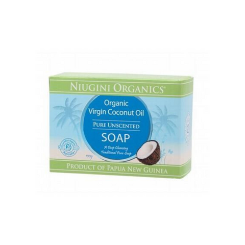 Niugini Org Virgin Coconut Oil Soap Unscented