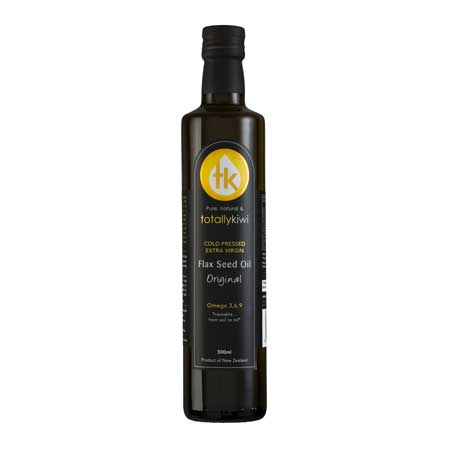 Totally Kiwi Flax Seed Oil 500ml