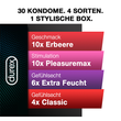 Durex Love Collection Black Box, 30 Kondome
